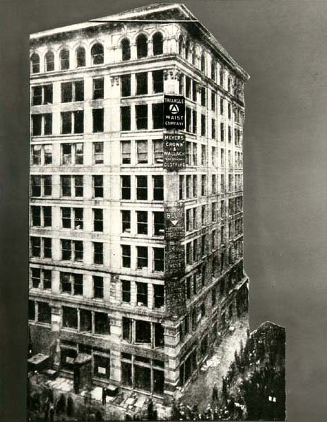 On the morning of March 25 1911 fire broke out in the Triangle Shirtwaist Company. The harsh working conditions and the locked doors, combined with the ...