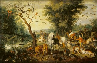 Jan Brueghel the Elder: The Entry of the Animals Into Noah's Ark