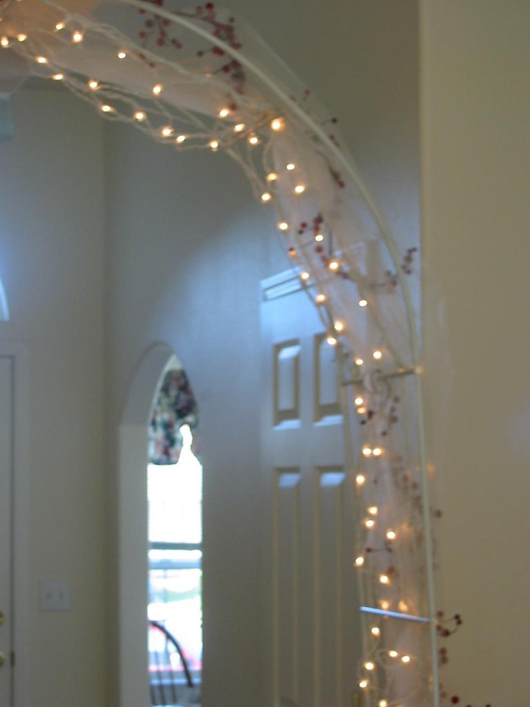 Arch Lights Wedding Arches With Lights Quotes