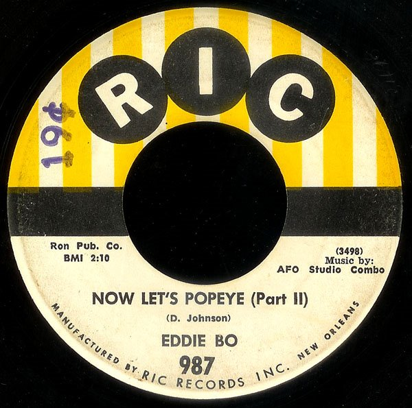 Tommy Ridgley I'm Not The Same Person / In The Same Old Way