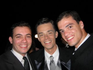 Caminão, Casaco e Ivo.