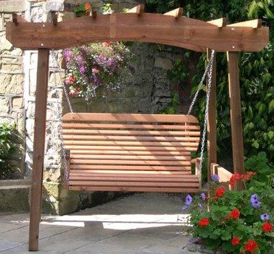 Pergola Garden Swing: Pergola Swing Ideas