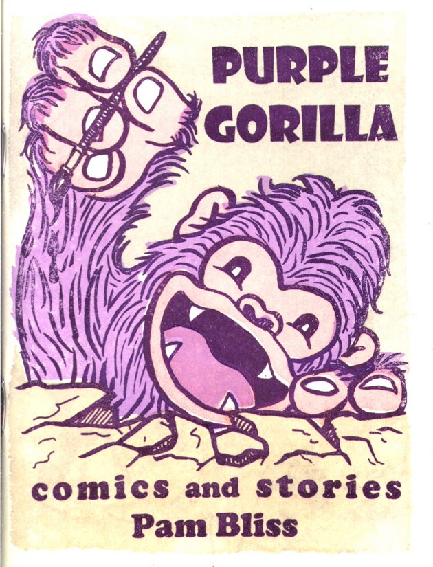 Purple Gorilla Comics Bliss's Purple Gorilla