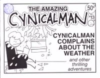The Amazing Cynicalman vol. 2 #13 cover