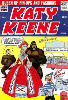 Katy Keene #38 cover