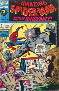 The Amazing Spider-Man Battles Ignorance