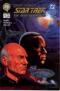 Star Trek: Deep Space Nine/Star Trek: The Next Generation #1