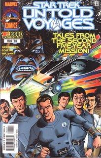 Star Trek: Untold Voyages #1