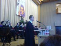 Rabbiner Tom Kucera bei seiner Ordination