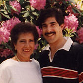 Elisson and Mom, May 1984