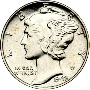 Liberty Head Dime, obverse