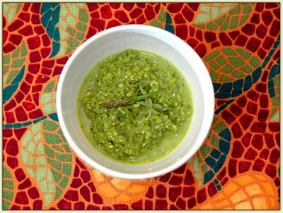 Asparagus Gazpacho