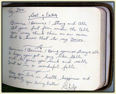 Phil's Autograph