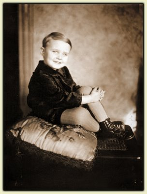 Pop-Pop Bill, age three