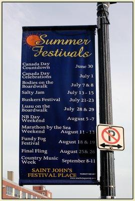 Saint John Festivals