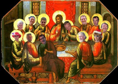 The Last Supper of Jawja