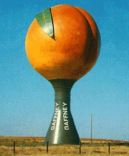 The Great Gaffney Peachoid