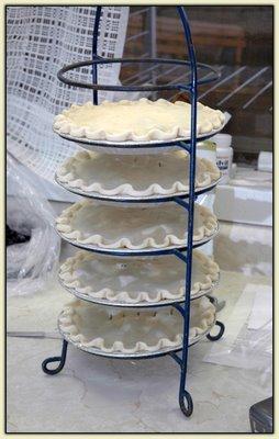 Pie rack