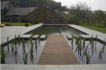 De uitzet deel 33 een zwemvijver for Zelf zwembad aanleggen kostprijs