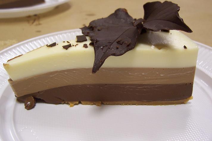 La Cocina De Auro Postres | Tarta Tres Chocolates Otonal La Cocina De Auro
