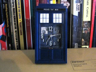 Photograph by Rullsenberg: Doctor Who Adventures magazine - Tardis Clock