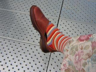 Rullsenberg's stripey leg: Photograph by Rullsenberg