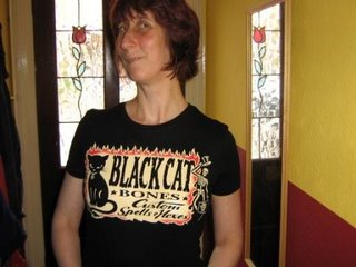 Photo of Rullsenberg in Black Cat Bones: Custom spells and hexes T-shirt