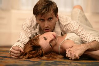 David Tennant as Jimmy Porter with Kelly Reilly as Allison Porter in