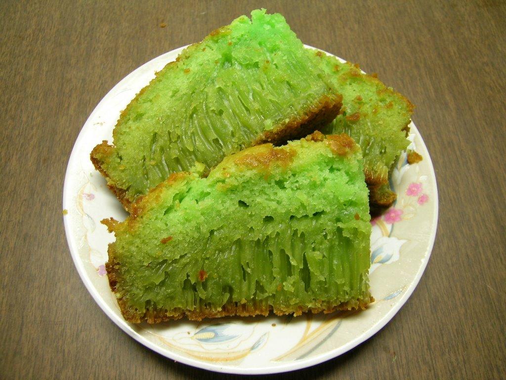 Vietnamese Sponge Cake Flour Green