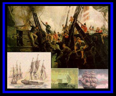 Historical Collage USS Constitution