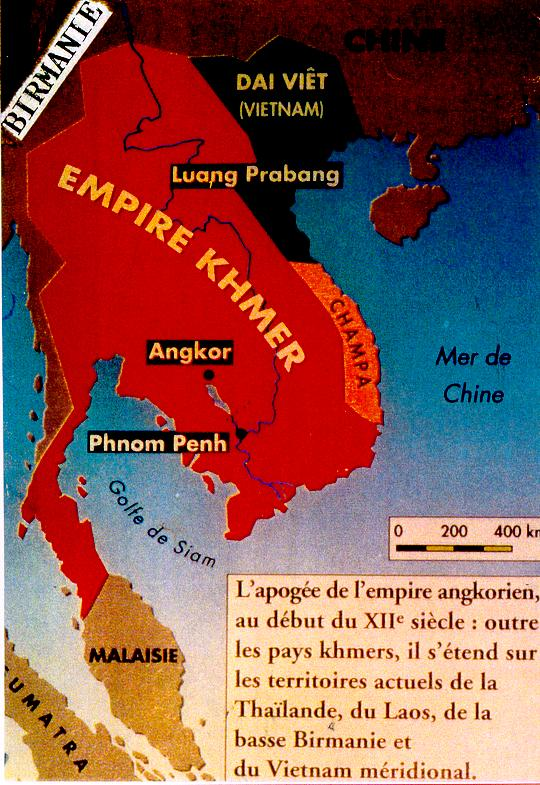 Khmer Empire Globe