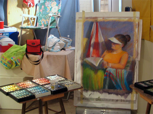 Making A Mark The Best Ever Workshop Pastel Painting