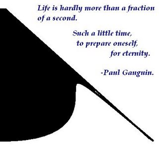 Life, Eternity ,Preparation time