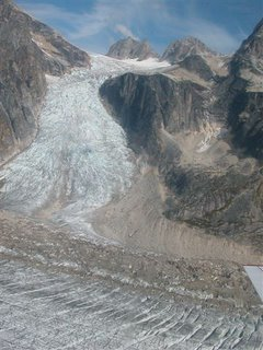 Alsaskan glacier, taken by my father. Alaska is warming fast!