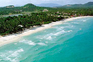 Bird's Eye View of Chaweng Beach Koh Samui