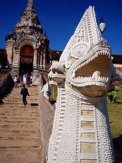 Chiang Mai Dragon Statue