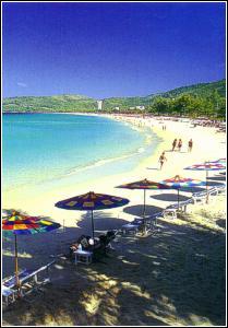 Kata Beach Phuket Aerial