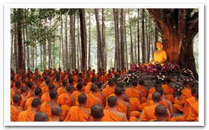 Magha Puja Buddhist Festival