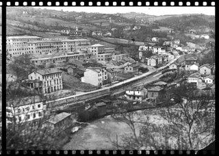 Vista general de Tuilla en el año 1946