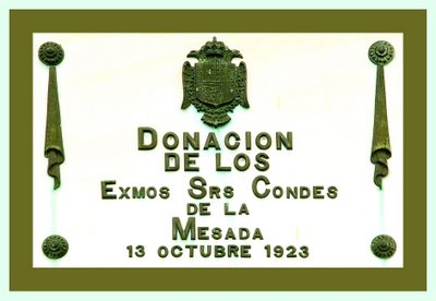 Escuela de San Juan de Amandi, 1923. Villaviciosa. Placa de inaguración.