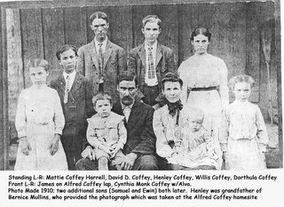 Alfred Coffey Family