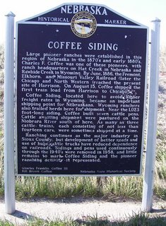 Coffee Siding