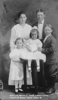 Jesse Edward Coffey Family