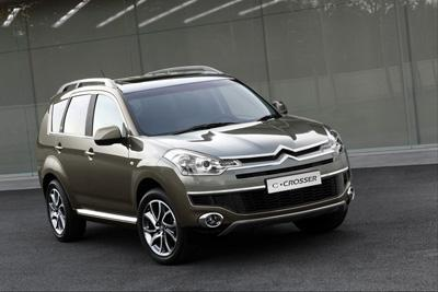 Citroen C-Crosser: high-end SUV