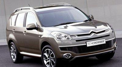 Citroën C-Crosser: a new SUV from Europe