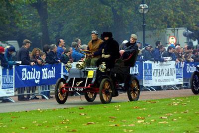 Twenty Classic Cadillacs enter London to Brighton Run