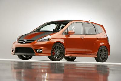 Honda Reveals Customized Concepts for Civic, Fit and CR-V at 2006 SEMA Show