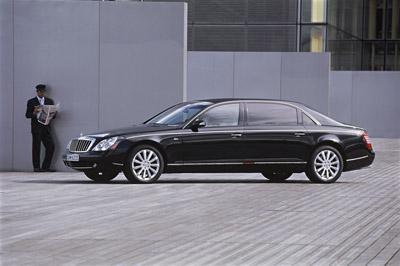 The new Maybach 62 S:The world's most powerful chauffeur-driven saloon