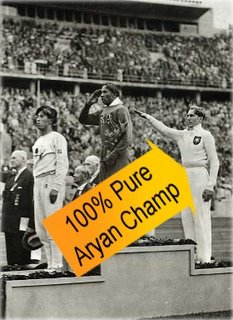 Jesse Owens and the 100% Pure Aryan Olympic champion