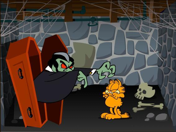 garfield scary scavenger hunt 2: